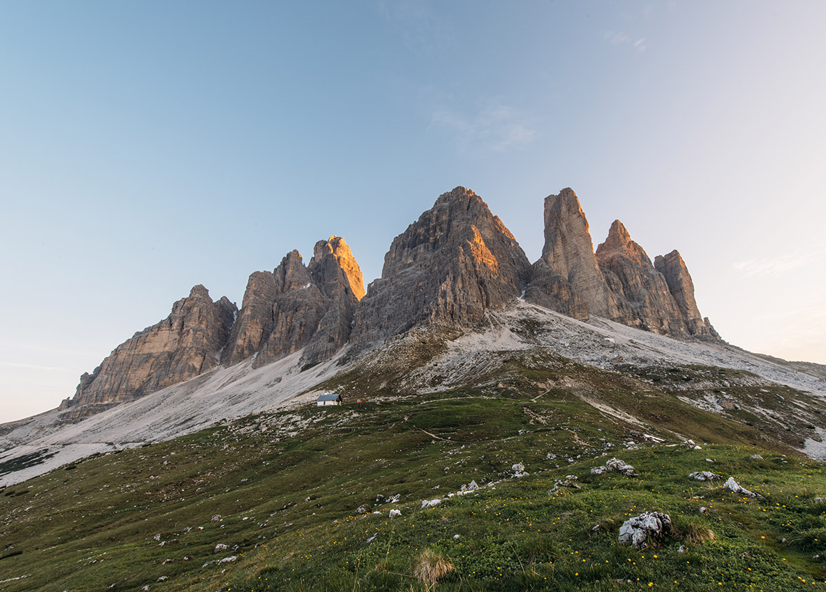 Tre Cime di Lavaredo at Sunrise