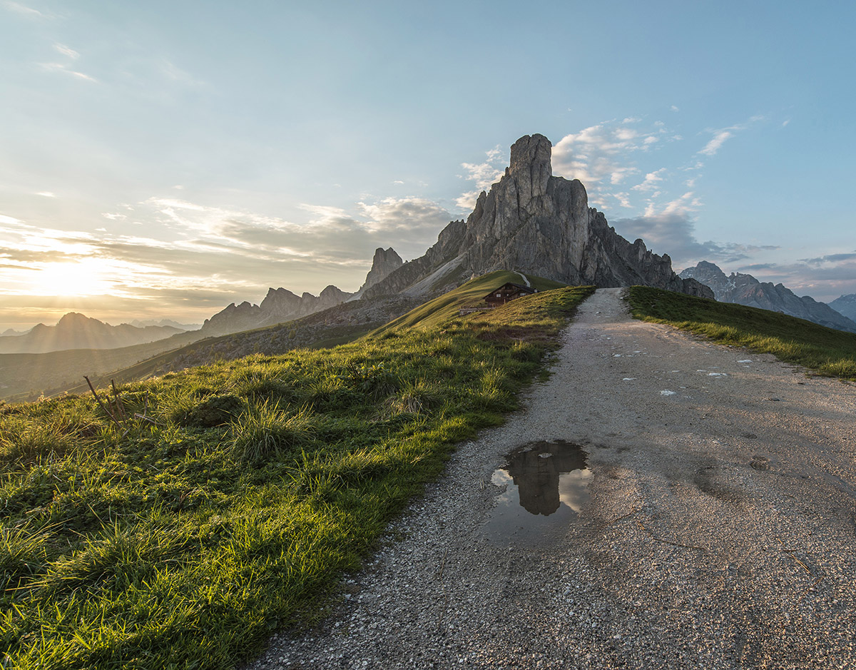 Passo di Giau is the most spectacular mountain pass in the Dolomites in my eyes. Sunrises and sunsets are just captivating.