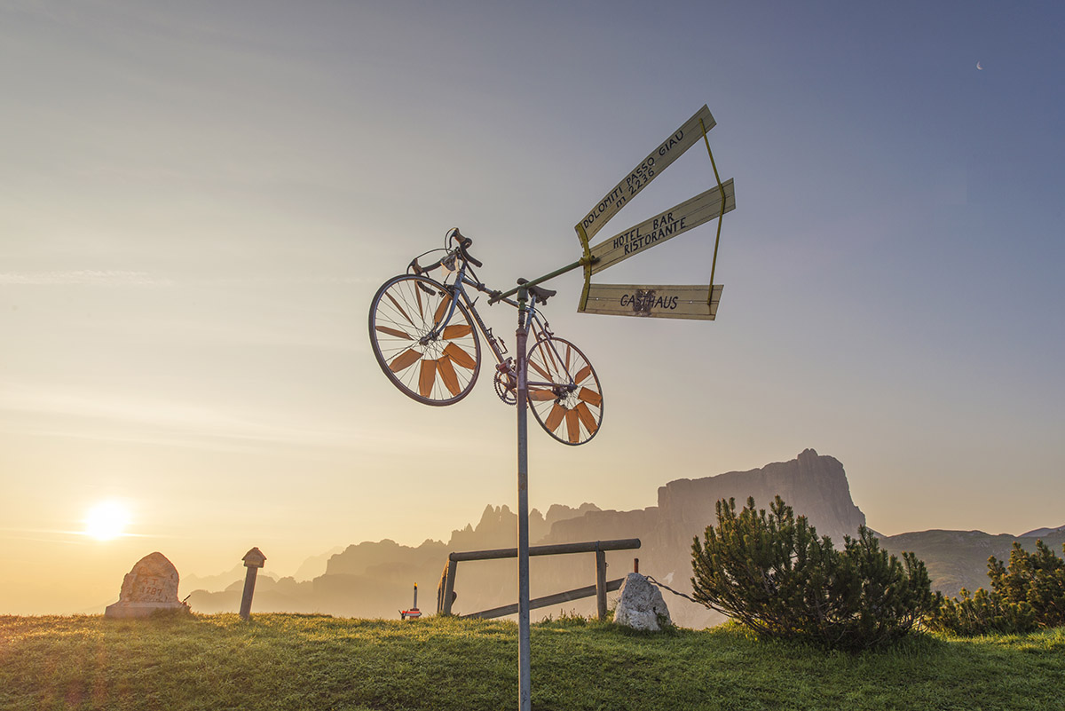 This is what the Dolomites mean to me. This is why I keep coming back. I love cycling.