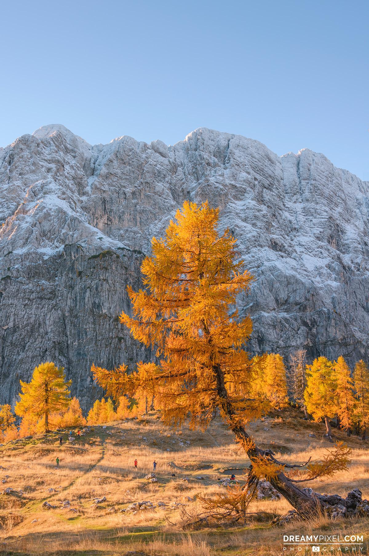 Slemenova Spica in autumn