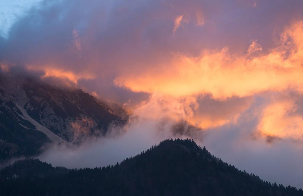 Dramatic sunrise