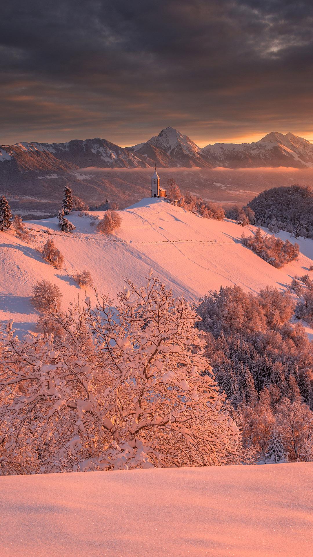 Dreamy Pixel Free Iphone Wallpaper Winter Landscape At