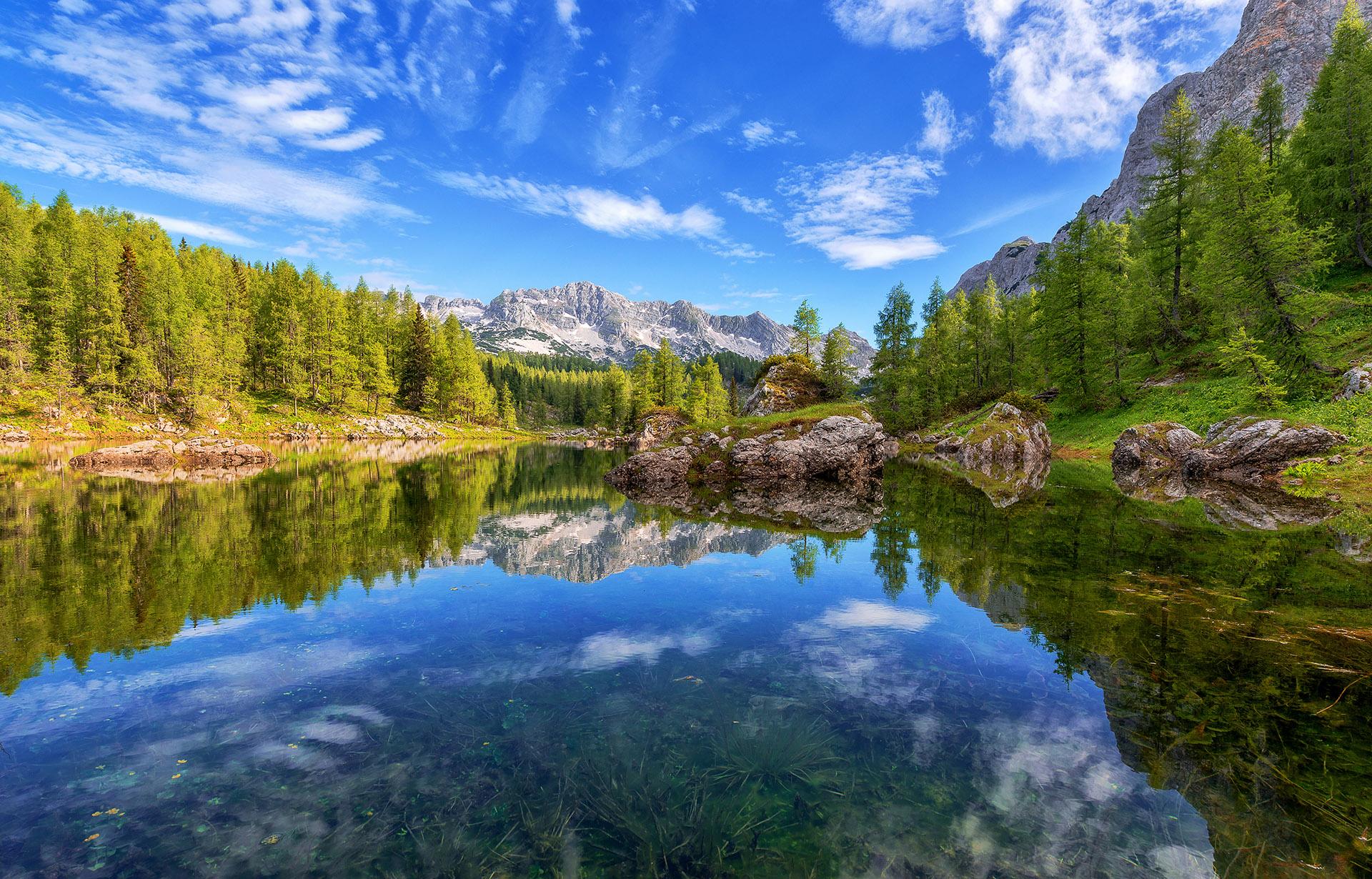 Dvojno jezero v dolini Sedmerih jezer