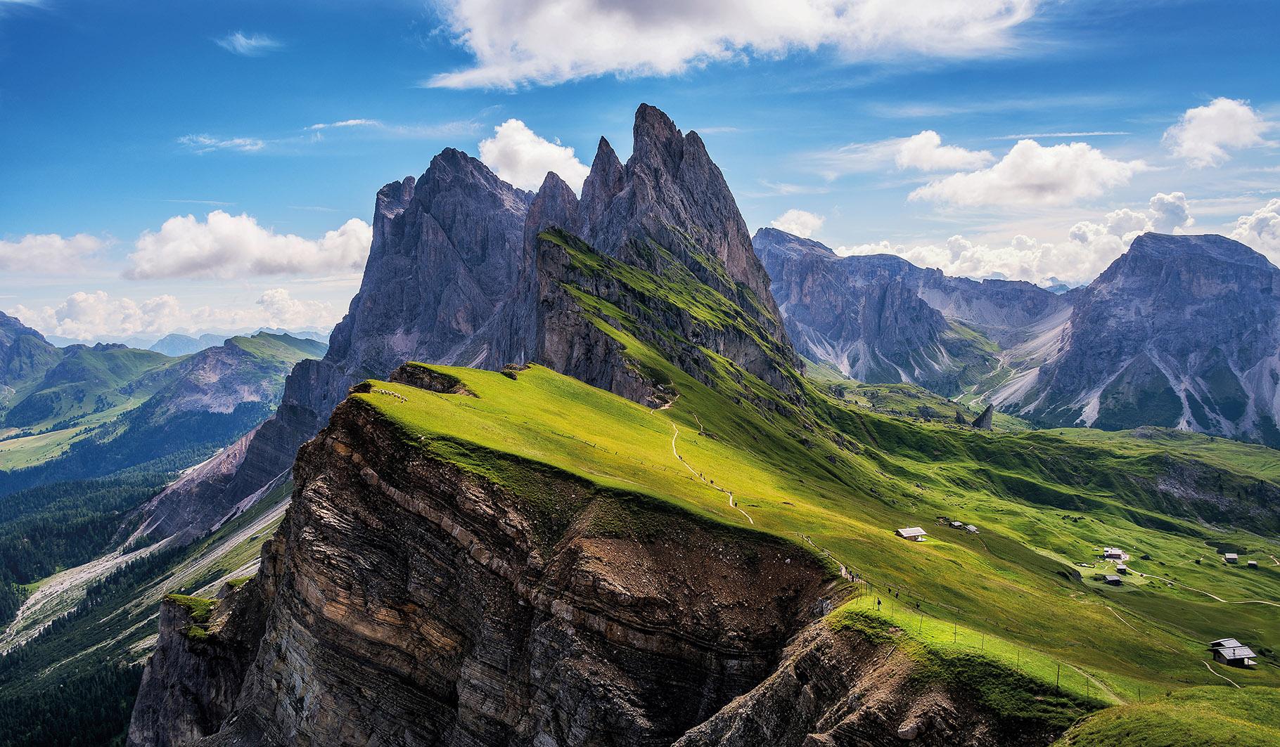 Gorovje Odle v Dolomitih