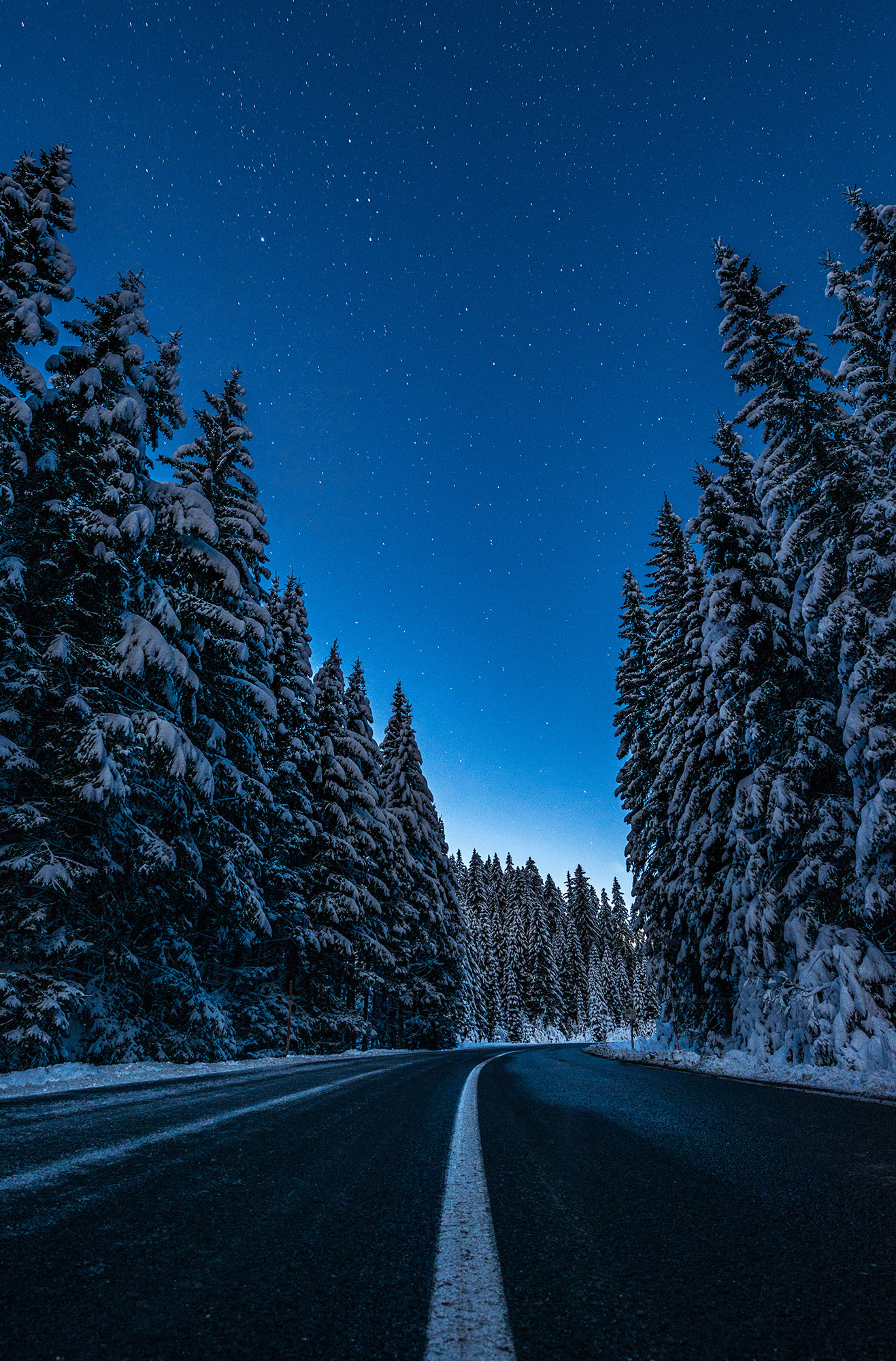 dreamy pixel night under the stars on the road to pokljuka dreamy pixel dreamy pixel